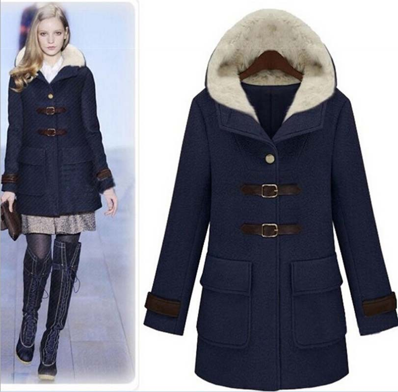 Navy Winter Jacket - Coat Nj