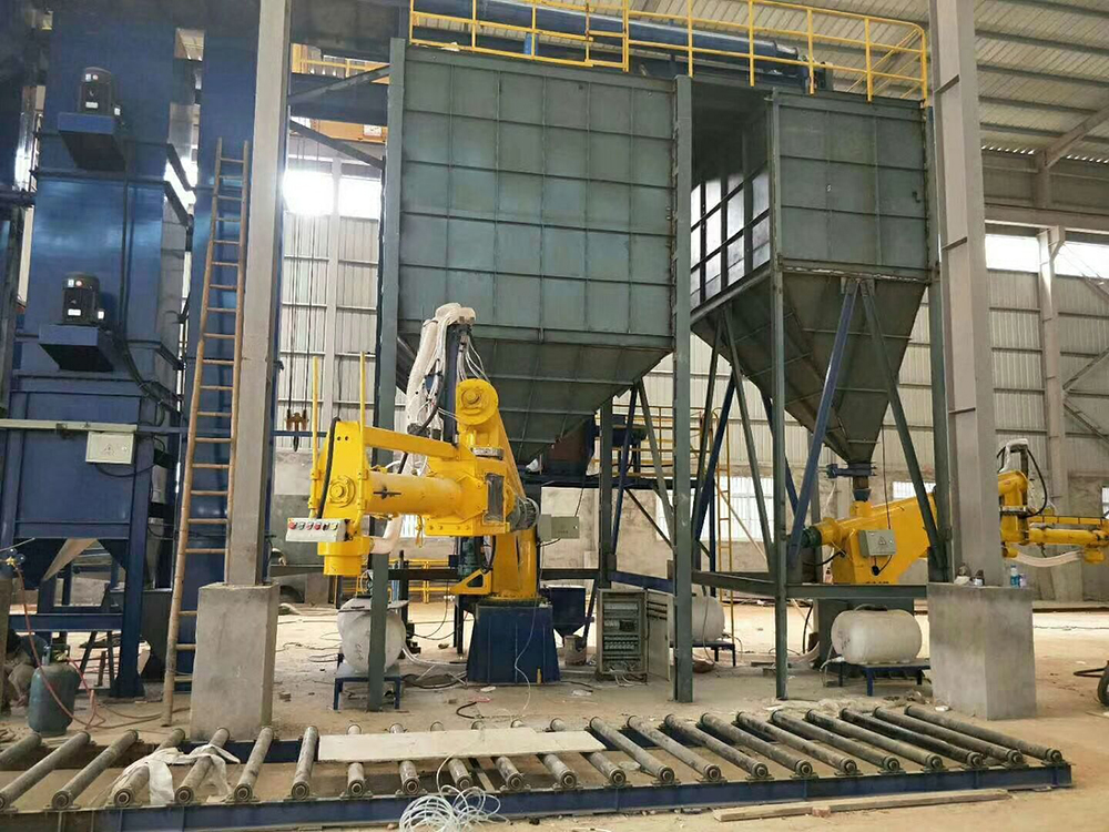 CE Continuous Sand Mixer for Resin Sand Molding Process