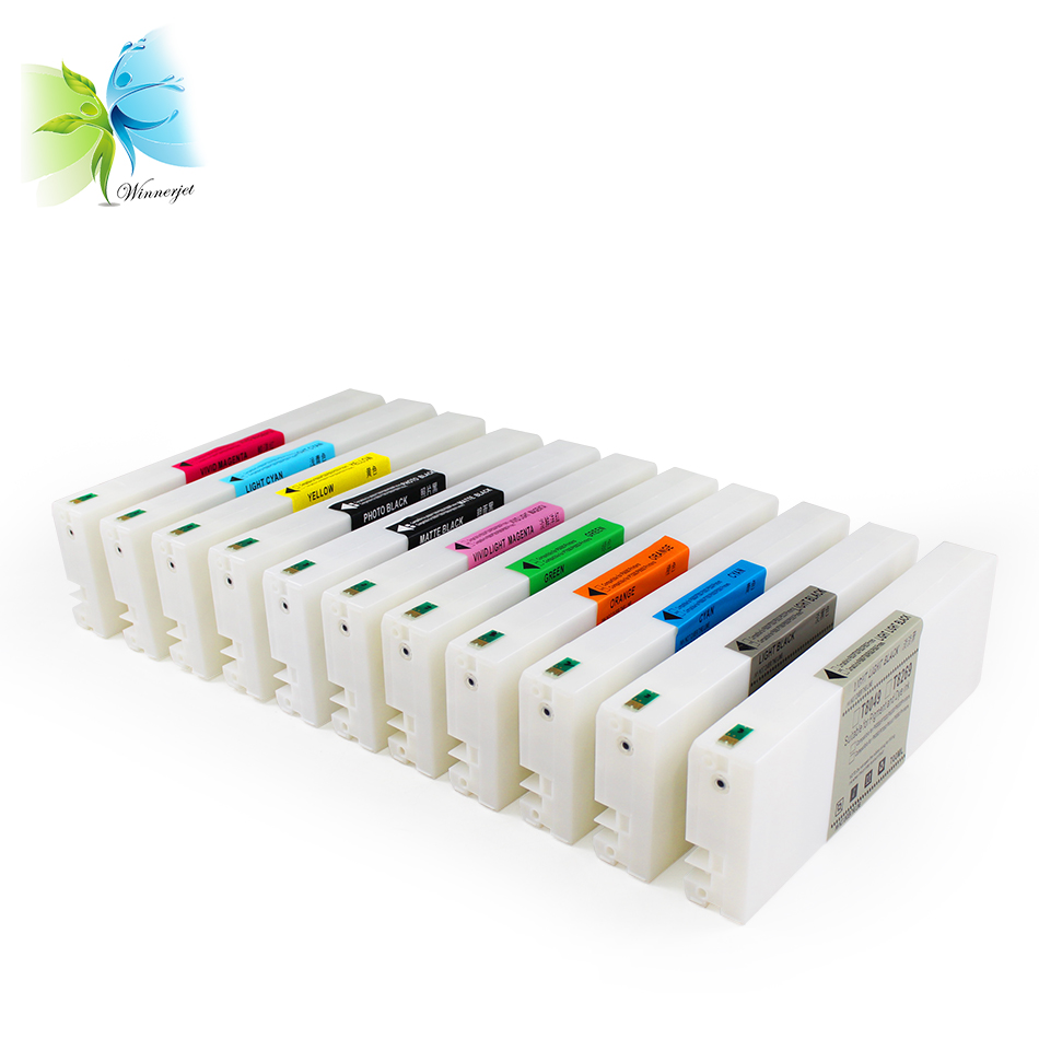 700ml 11 Colors For Epson SC-P7000 Compatible Ink Cartridge With Chip For Epson P7000