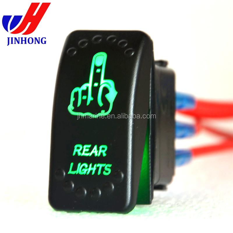 4 Pin Illuminated Arb Marine Rocker Switch Labels For Car/truck/rv - Buy  Marine Rocker Switch,Rocker Switch Labels,Marine Switch Labels Product on