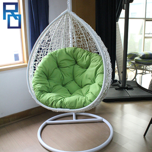Living Room Indoor Rattan Hanging Swing Egg Chair