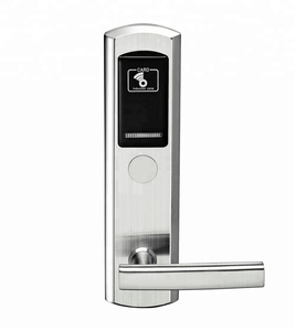 Free Software 304 stainless steel Electronic Smart Hotel Door Lock