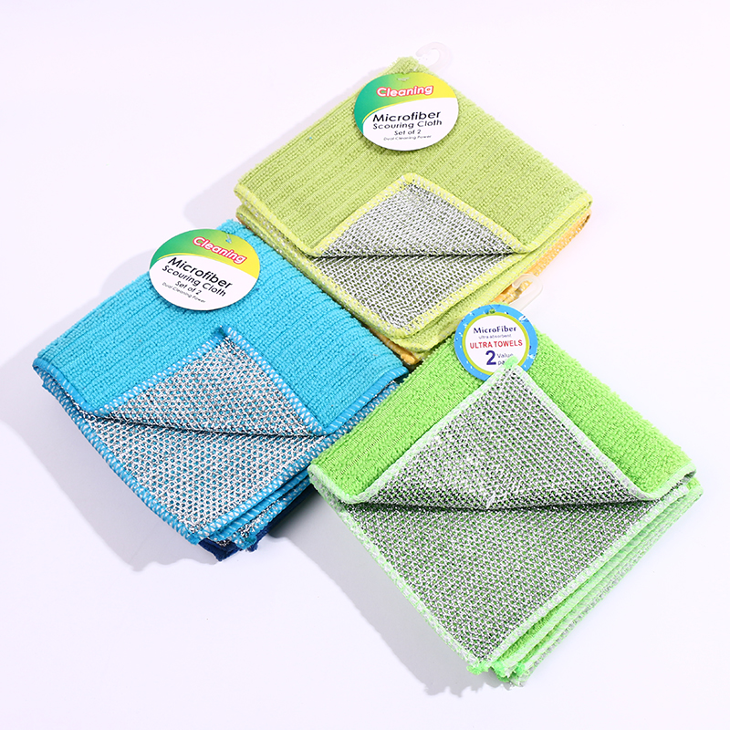 Hot sale cleaning products microfiber rag,Kitchen Turkish Towel,silver polishing cleaning cloth towels