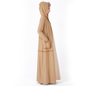 Islamic Women Fancy Muslim Dress Sportswear Breathable Abaya Kaftan For Ladies