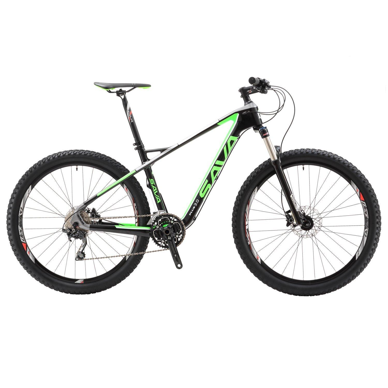 "SAVADECK Carbon Fiber T800 27.5"" Mountain Bike SHIMANO M610 Deore XT System SR SUNTOUR Fork"