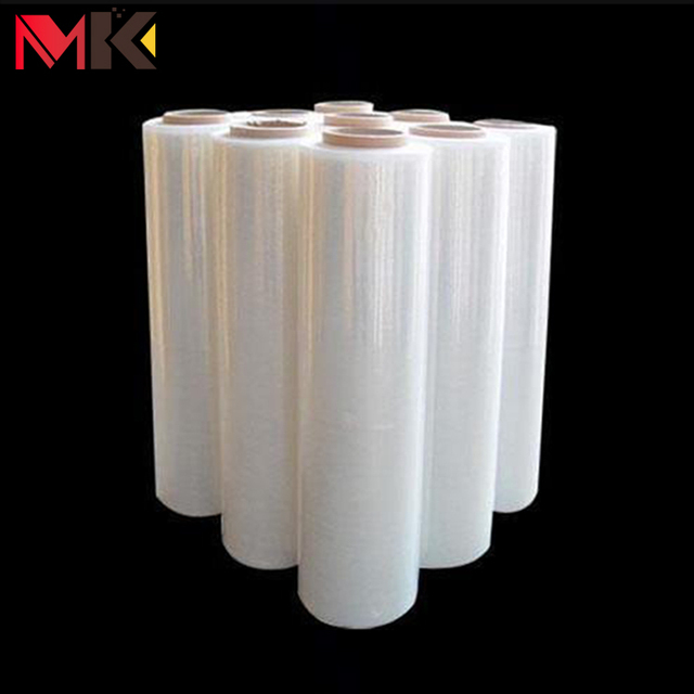 Well-pressed perforated stretch film transparent plastic roll film