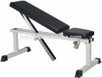 Adjustable sit up bench home gym abs workout incline exercise