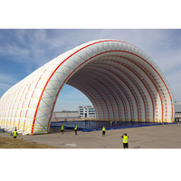 China suppliers Giant inflatable aircraft hangar tent , hangar inflatable for sale