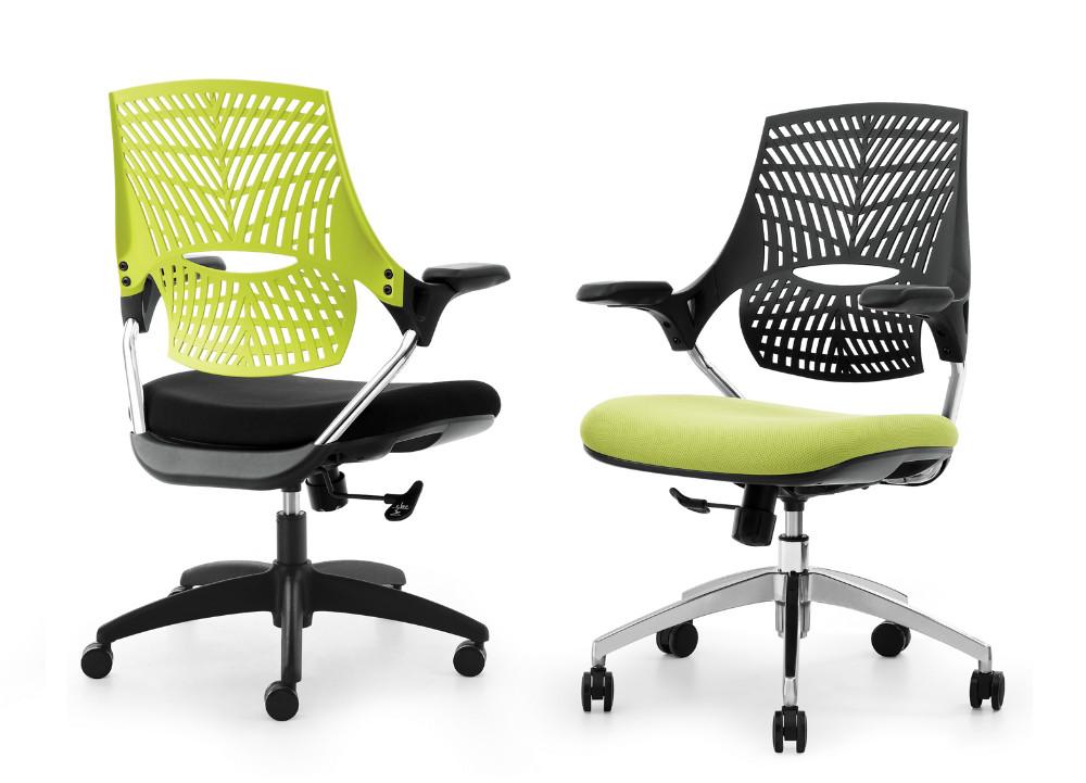 Derni res produit couleur vive accoudoir en plastique mesh chaise de bureau a - Chaise plastique couleur ...