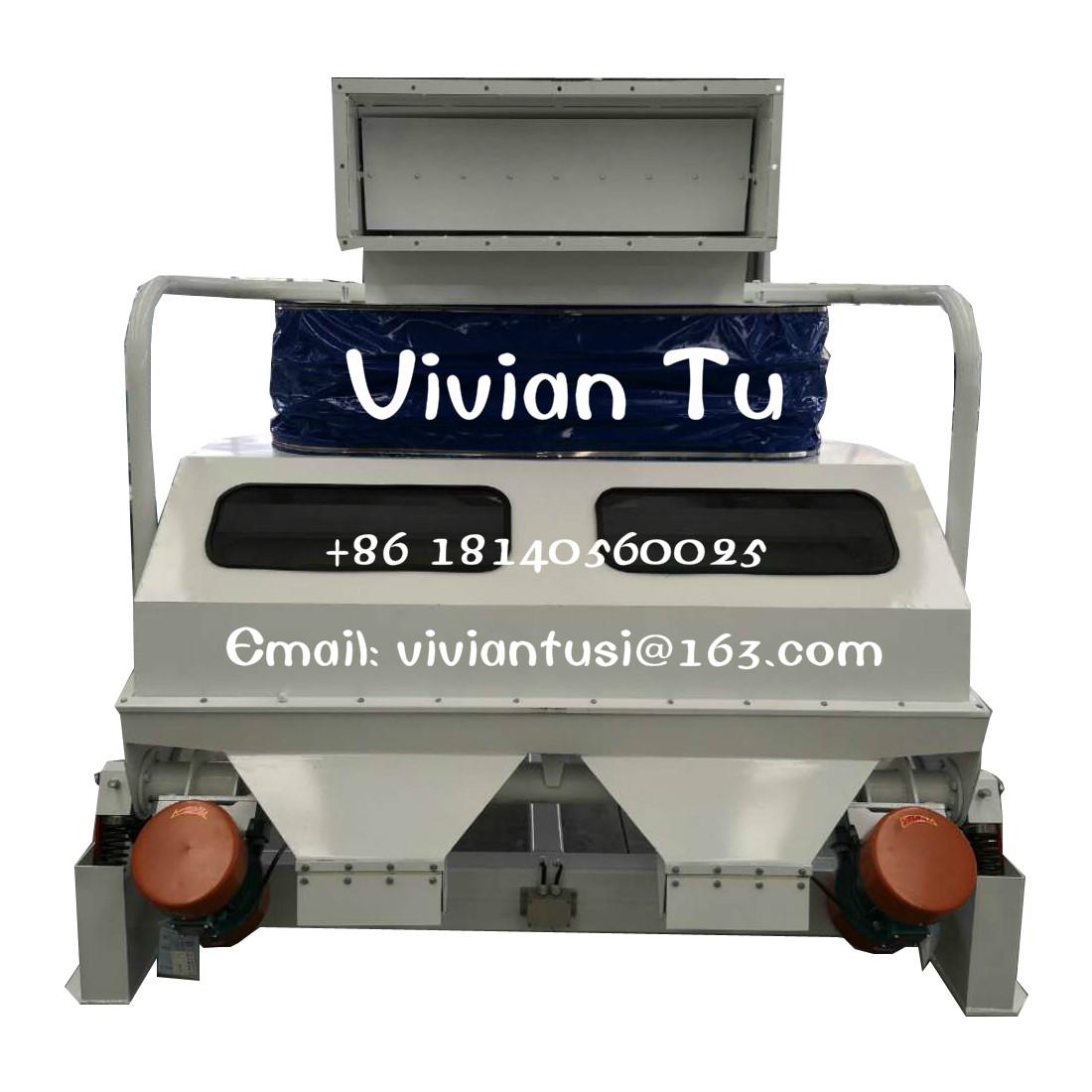 Wide Application TQSX Series Suction Type Specific Gravity Peanut Destoner