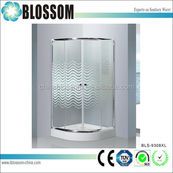 Indoor Cheap Portable Bathroom Shower Glass Cubicle Sizes - Buy ...