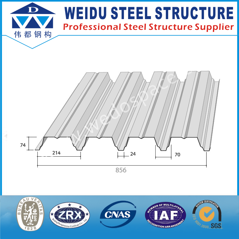 New Thin Iron Sheet Steel Decking Prices Standard Size
