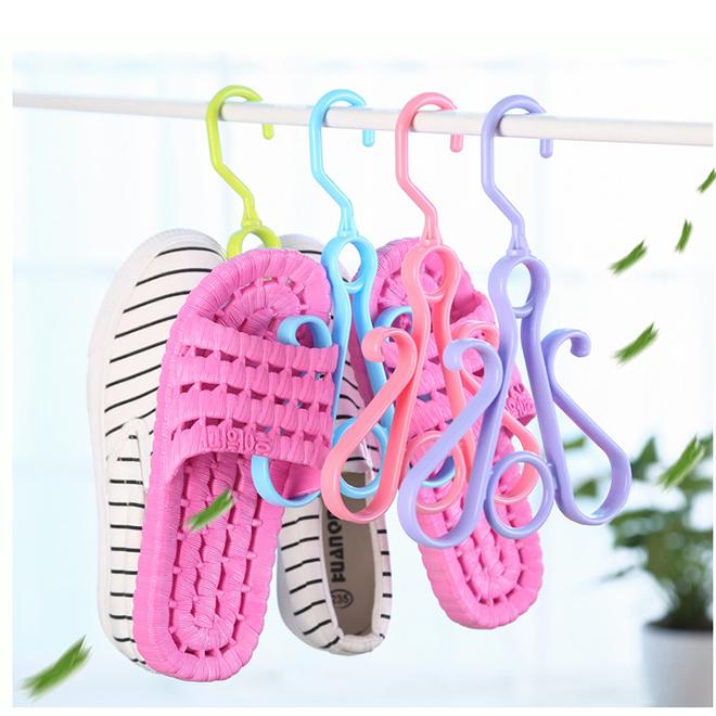 Wholesale plastic shoe drying rack household shoe hanger for sale
