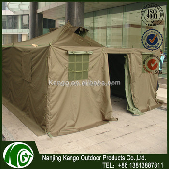 Heavy duty camouflage waterproof camouflage canvas fabric military frame tent & Heavy Duty Camouflage Waterproof Camouflage Canvas Fabric Military ...