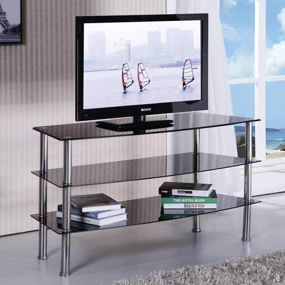 1PerfectChoice Modern TV Stand Entertainment Console Cabinet
