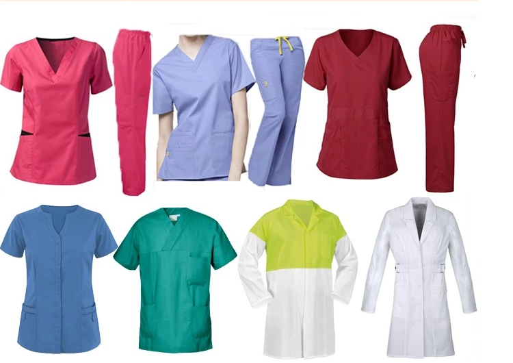 Hospital Gown Surgical Clothing Hospital Scrub Nursing Uniform