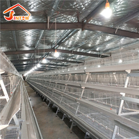 2018 new design hot galvanized day chicks cage for poultry farming Poultry Chicken Layer Cage For Sale