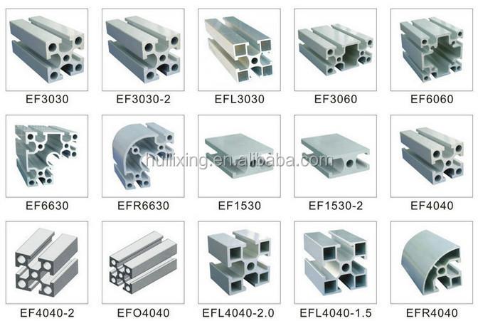 Industry Aluminum Extrusion Profile 20 Series Aluminum