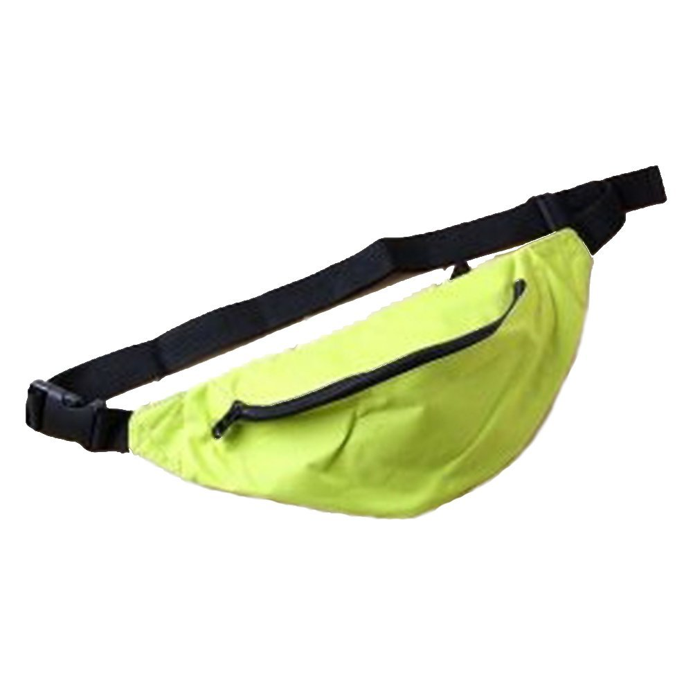 CNC-019 Waist Pack Bag Sport Fanny pack Hip Belt Bag Pouch for Hiking Cycling / Climbing / Outdoor Bumbag / 14.6 X 5.6 Inches / (Green)