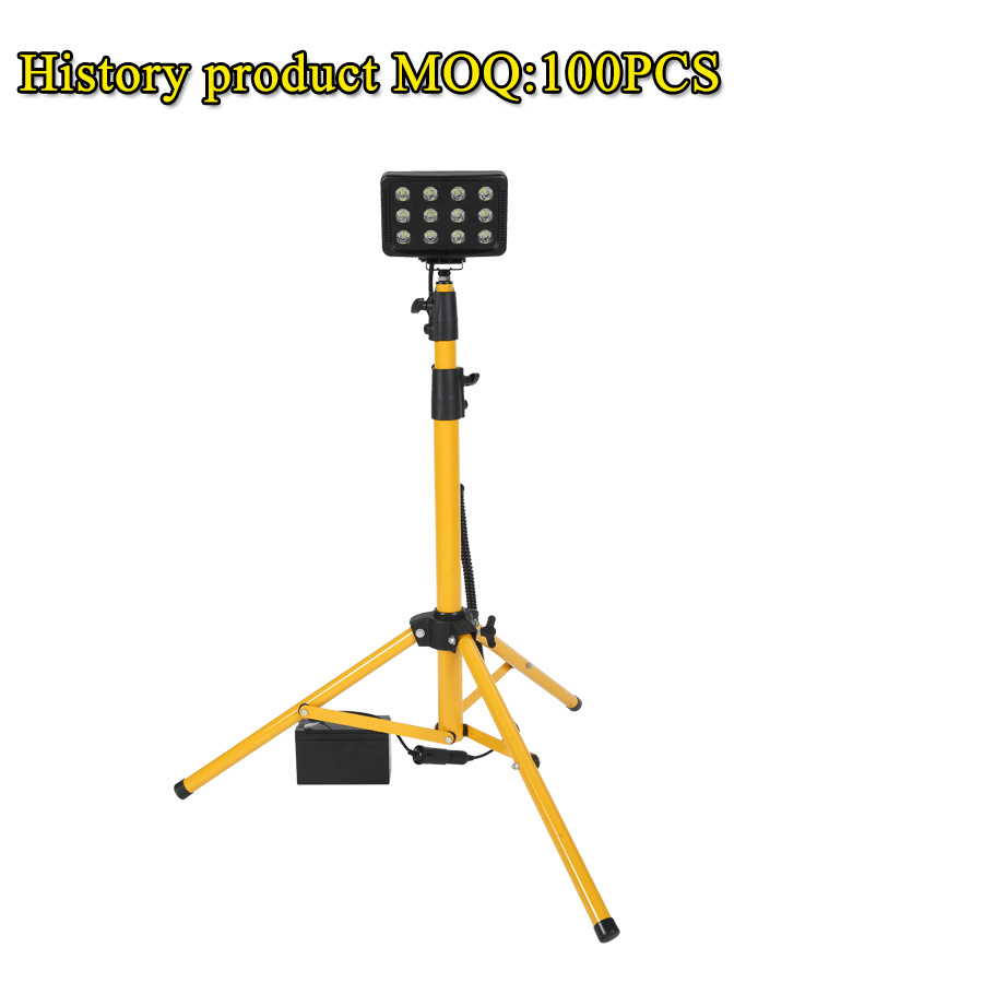 Led Outdoor Lighting Flood Light Camping Accessories M 3m Height Portable 36w Telescopic Tripod Work Rls 836l