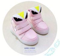 LED fashional Children Breathable Sportsanti-skidding light up shoes
