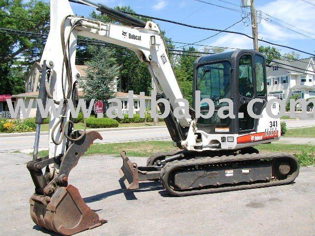 2006 Bobcat 341 Excavator Hvac Kubota Diesel 337 Long Arm
