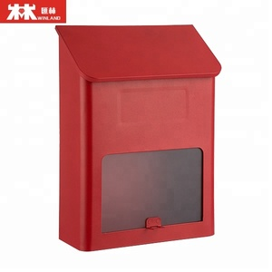 Steel Mailbox Letter Box Post Box without Lock