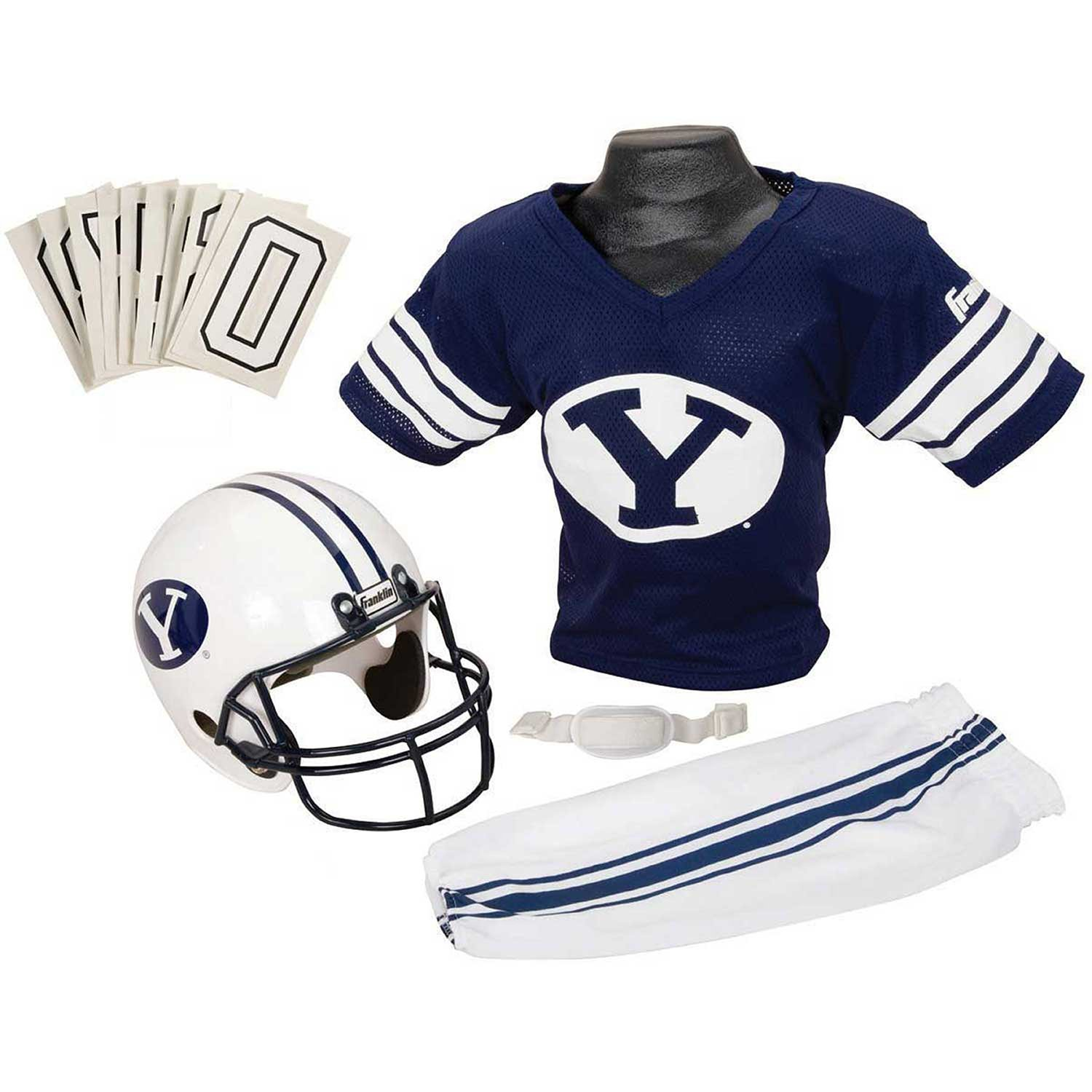 buy online 4a2e5 76618 Get Quotations · Franklin Sports NCAA Deluxe Youth Team Uniform Set
