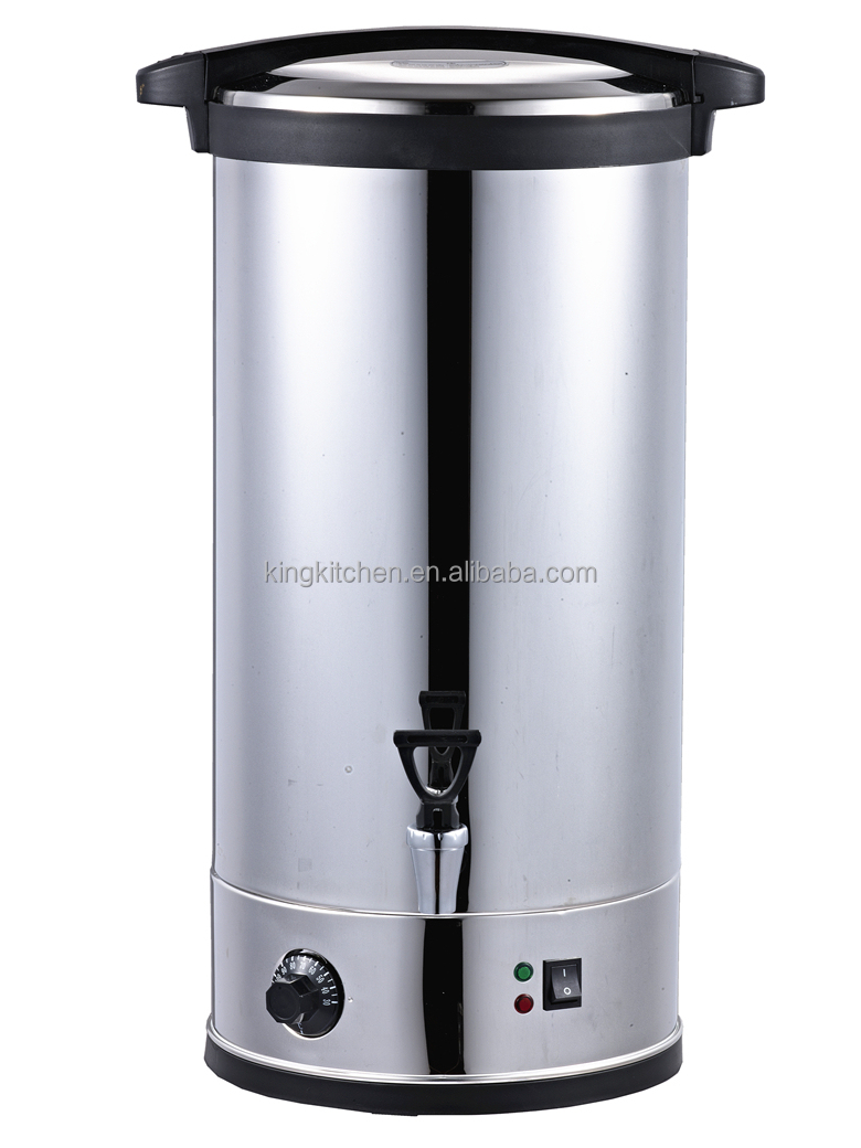 26L TEA URN / DESKSTOP ELECTRIC WATER BOILER / 304 STAINLESS STEEL WATER  TANK