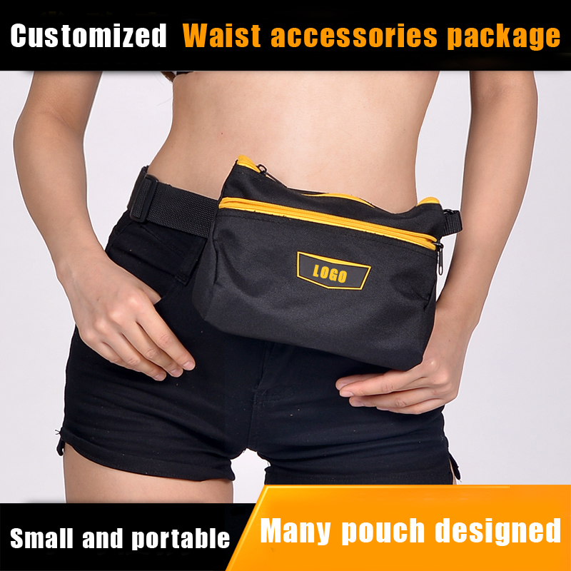 ShenZhen manufacture high quality hanging waist tool bag