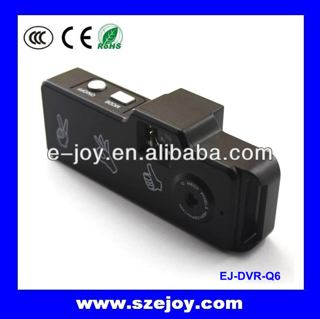High-quality images HD HD720P thumb DV,mini toy camera 720p&EJ-DVR Q6