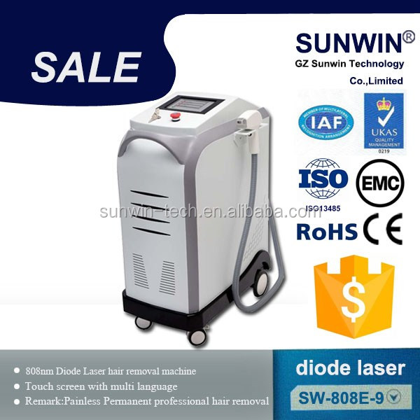 Professional Diodo Laser 808nm Diode Laser Hair Removal Machine