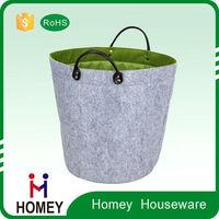 Novel Product Best Quality Worthy To Buy Customised Felt Laundry Tote Bag