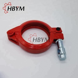 DN125 Concrete Pump Forged Clamp