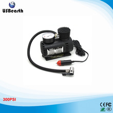 Portable 12V 90W 300PSI Electric Car Tire Inflator Pump Auto Car Pump 3 Pneumatic Nozzle