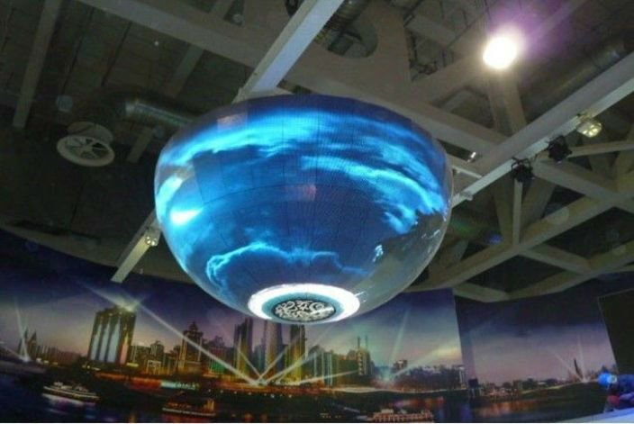 360 Degree shape Multi-Screen Round Visionled led wall panel