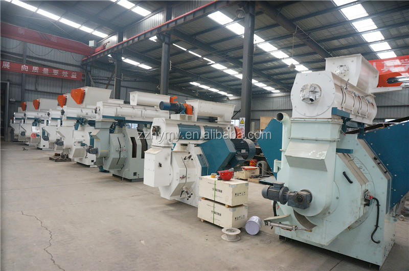 Factory Price Vertical Ring Die Pellet Mill Wood Pellet