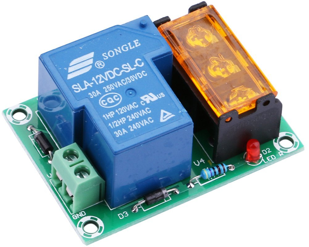 Cheap High Current Relay 12v Find Deals On Power Switch Get Quotations Yeeco Normally Open Closed 30a Output Control Module