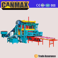 QT8-15 Top brand canmax small scale concrete block making machine, mobile block machine
