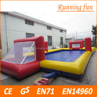 good quality inflatable soccer game, inflatable football pitch