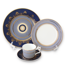 Blue Danube tableware set plates sets dinnerware ceramic dinner plates for wedding