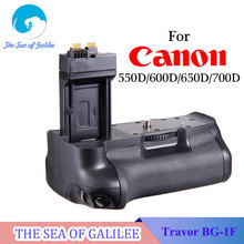 Travor BG-1F Vertical Battery Grip Hand Holder Pack for Canon 550D/600D/650D/700D Rebel T2i/T3i/T4i/T5i DSLR Camera As BG-E8