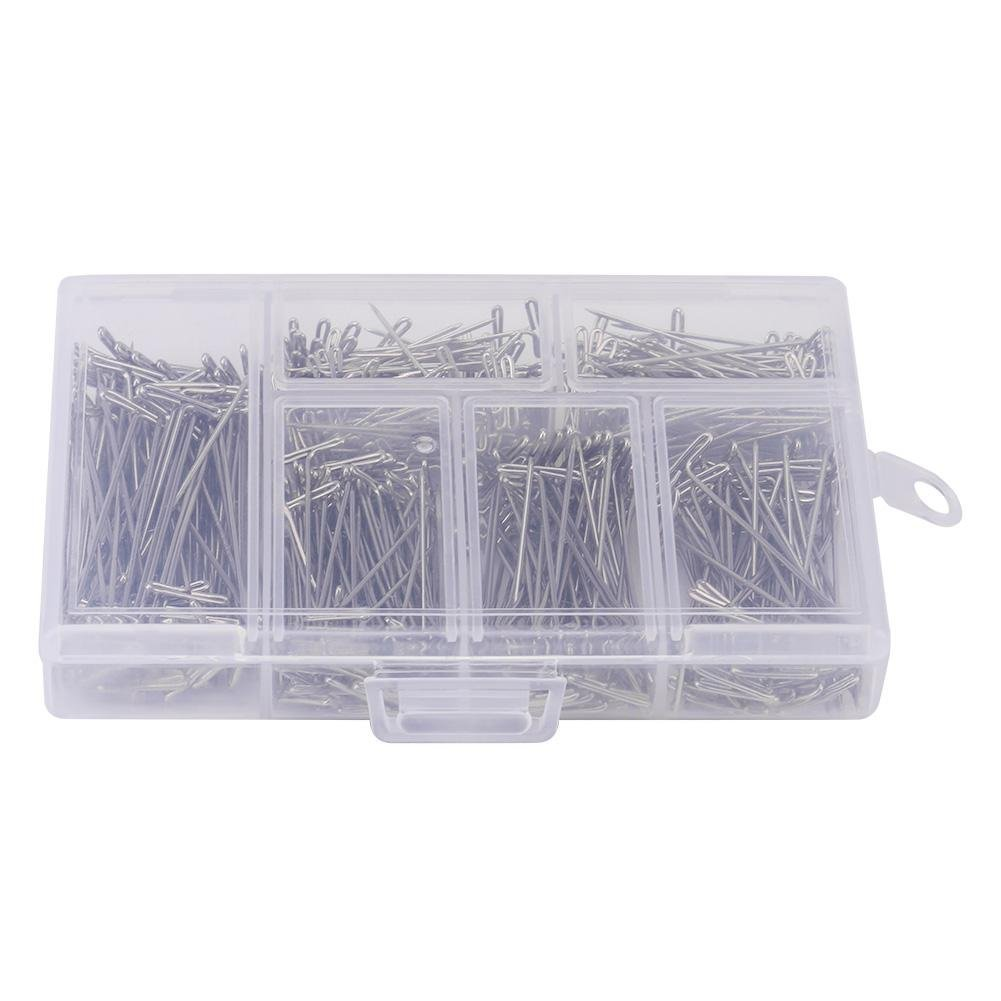Shappy 1600 Pieces Head Pins Fine Satin Pin Dressmaker Pins for Jewelry Making Sewing and Craft 1 1//16 Inch Stainless Steel