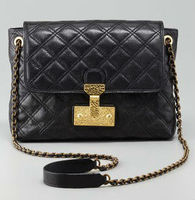 Genuine lambskin leather Large Quilted Bag
