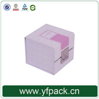 Popular Colorful Hard Paper Empty Candle Gift Box With Magnetic Closure