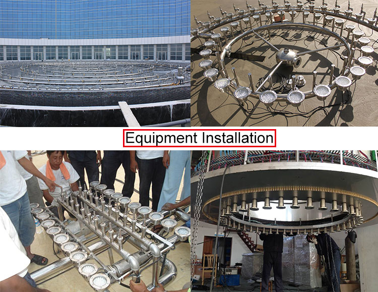 Shopping Mall Outside music dancing water fountain, Indoor Outdoor Dry Floor Water Fountain