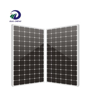 High Efficiency 30mm Frame Bifacial Mono Perc Double Glass Monocrystalline Solar Module Solar Panel Solar Cells 310w Commercial