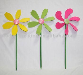 Outdoor Garden Decorations Plastic Decorative Garden Windmill