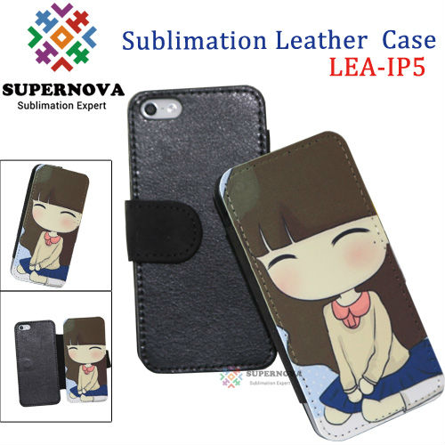 Sublimation Phone Leather Case for iphone 5S