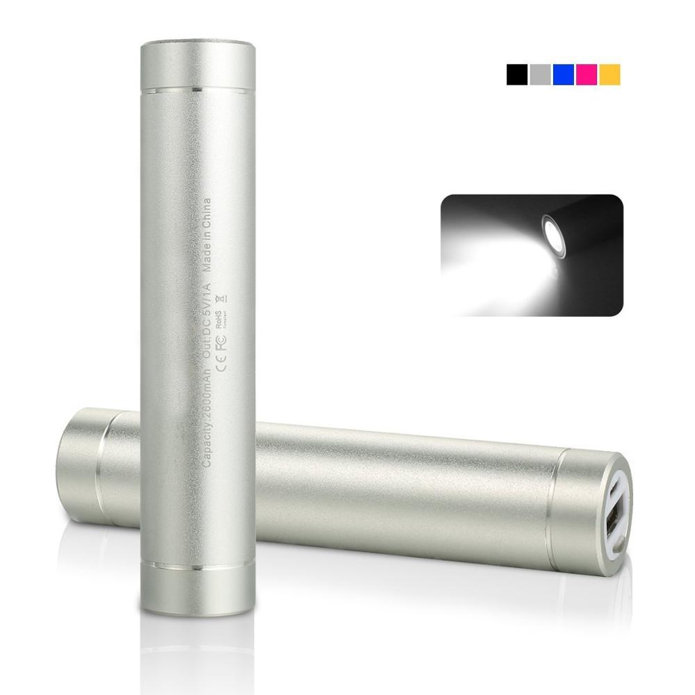 Hot Sale LED Light Power Bank Charger